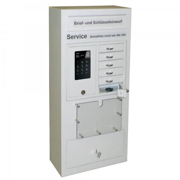 24-Stunden Ausgabe- und Annahmesafe Keybox 9006 S weiss