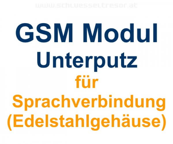GSM Modul für Sprachverbindung Unterputz
