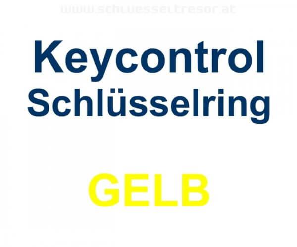 Keycontrol Schlüssel-Ring GELB
