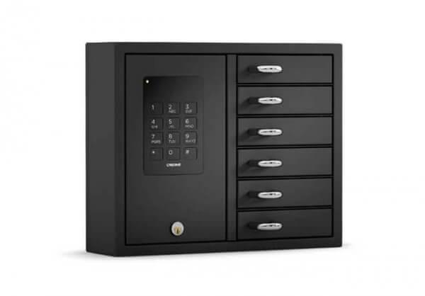 Keybox Basic 9006 B Edelstahl mit Batteriebackup