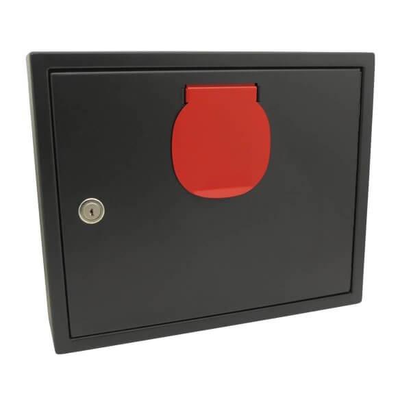 Schlüssel-Annahmebox Light Schwarz