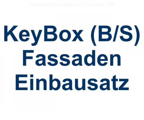 Unterputzrahmen KeyBox Edelstahl schwarz