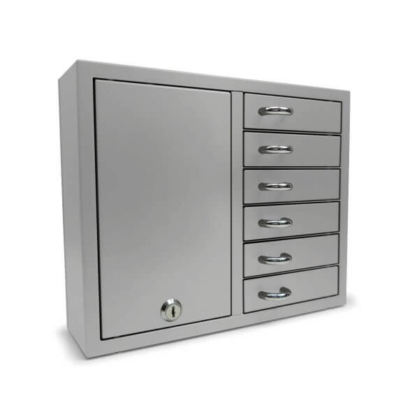 Keybox Expansion 9006 E Silber