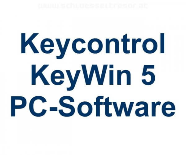 KeyWin 5 Software für Keycontrol