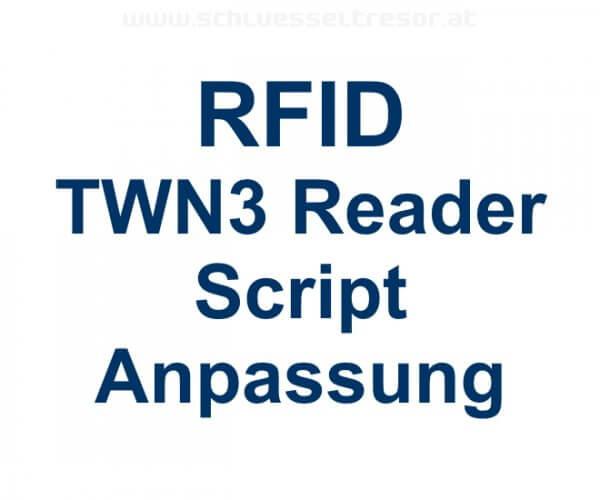 Scriptanpassung RFID Reader TWN