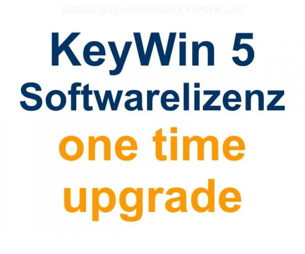 KeyWin 5 Software für Keycontrol one time upgrade