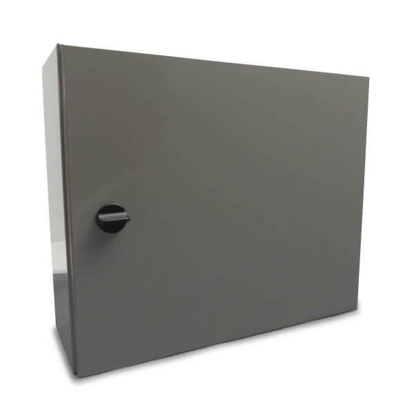 Schutzschrank grau für eine KeyBox